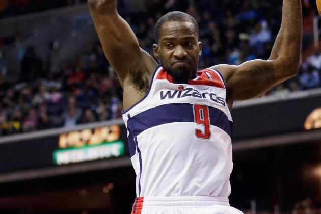 Wizards' Martell Webster Could Be Shut Down with Abdominal Strain