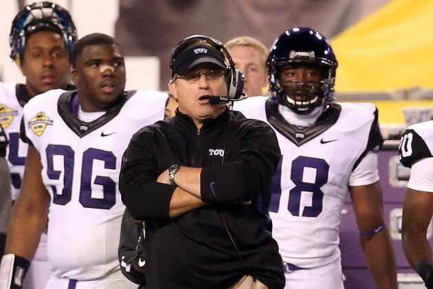 Patterson Wants TCU to Be Metroplex's Team