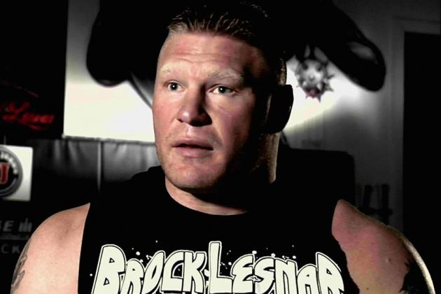 WWE Extreme Rules 2013: Who Is the Most Suitable Opponent for Brock Lesnar?