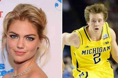 Michigan's John Beilein: Spike Albrecht Has 'a Shot' with Kate Upton