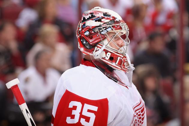 Jimmy Howard and Red Wings Agree to 6-Year Contract Extension