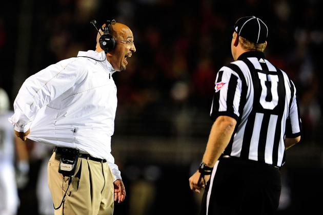 James Franklin Has Testy Radio Exchange