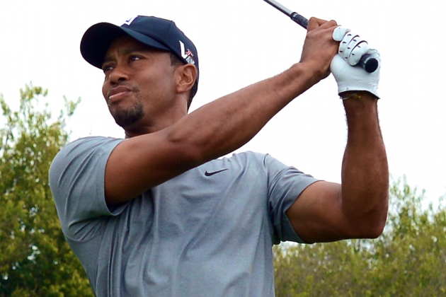 Tiger Woods at Masters 2013: Day 1 Score, Highlights and Updates