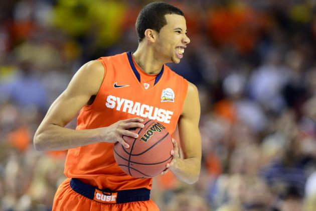Carter-Williams Tells Yahoo Sports He Can Work His Way to No. 1 Spot in Draft
