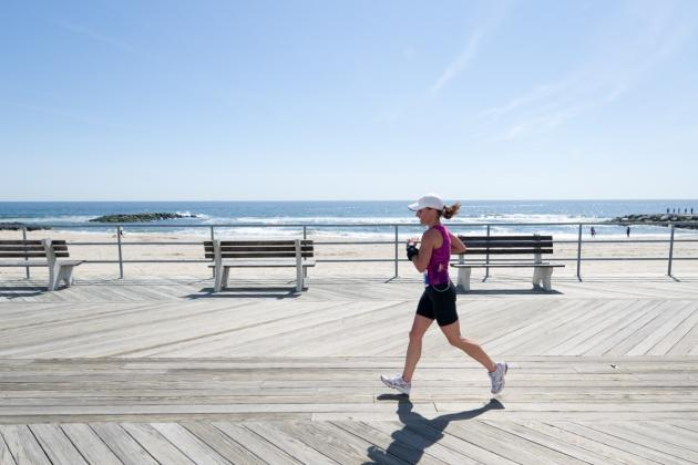 N.Y. Cancer Survivor 'Up and Running' Again