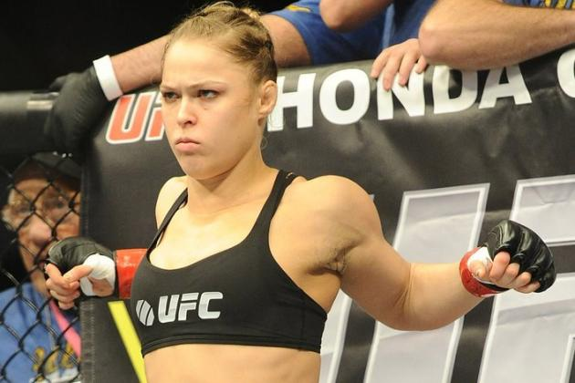 Ronda on Fallon: She Can Chop Her Pecker off but Still Has a Man's Structure