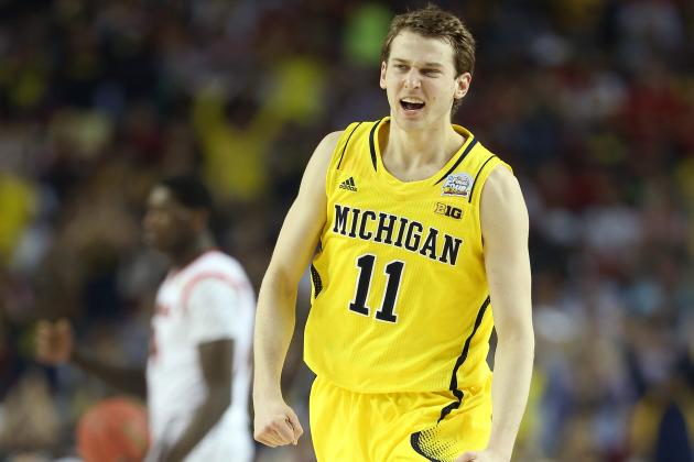 Michigan's Nik Stauskas Insists He'll Be a 'Different Player' Next Season