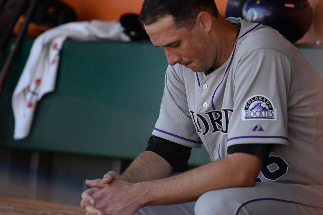Francis Chased Early, Rockies Swept by Giants