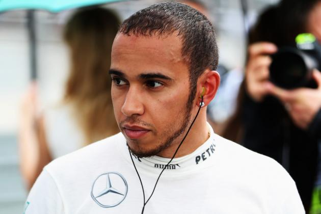 Hamilton Taken Ill in China with Allergy