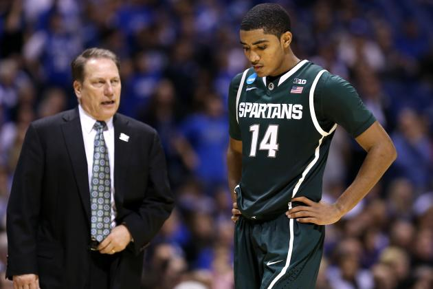 Izzo Continues Research for Potentially NBA-Bound Spartans