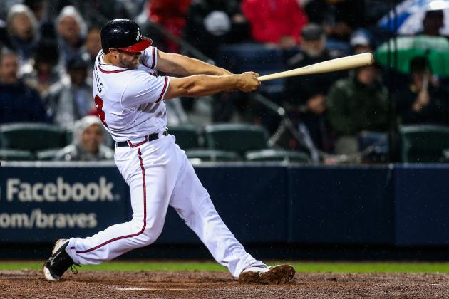 What Should the Braves Do with Evan Gattis When Brian McCann Returns from DL?