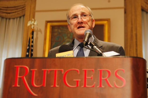 Rutgers Interim AD Kirschner Rebuffs Media at Football Practice