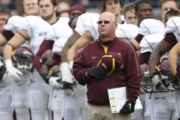 Gophers Football Makes Progress Despite Weather
