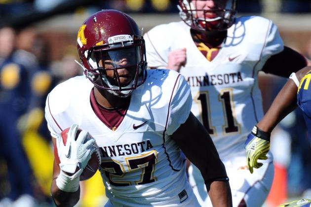 David Cobb Re-Entering the Gophers' Running Back Discussion