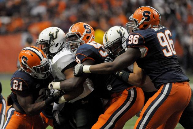 Senior Jay Bromley Anchoring Syracuse Football Defensive Line