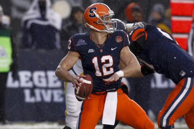 Nassib Tells Dan Patrick He Is the Best Quarterback in the NFL Draft