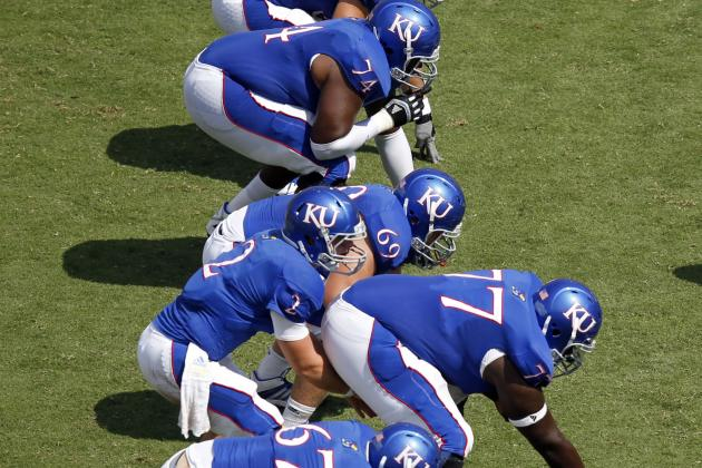 New-Look KU Offensive Line Takes Shape