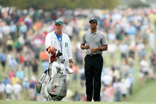 Master Leaderboard: Tiger Woods off to Solid Start, Being Chased by Young Talent