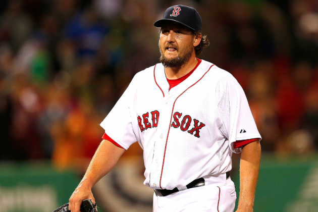 Boston Red Sox: Should Boston Make Andrew Bailey Closer over Joel Hanrahan?