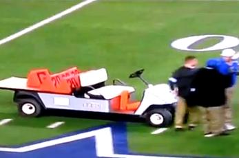 Amendola's Father Sues Cowboys Stadium for Golf-Cart Mishap