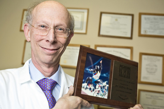 U.S. Track's Unconventional Physician
