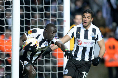Newcastle V Benfica: 11th Apr 2013 | Report