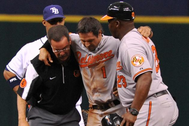 Brian Roberts Not Likely to Come Off of DL at 2 Week Mark
