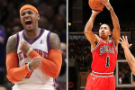 'Melo: D-Rose Shouldn't Be Rushed Back