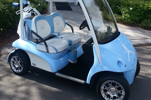 Michael Jordan's Golf Cart Rivals Bubba Watson's Hovercraft for Sweetest Ride
