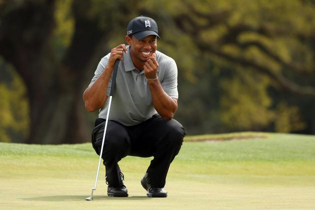 Masters 2013 Leaderboard: Where Tigers Woods and Golf's Top Stars Stand on Day 1