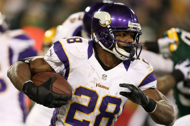 Adrian Peterson Is Conflicted About the New Helmet Rule