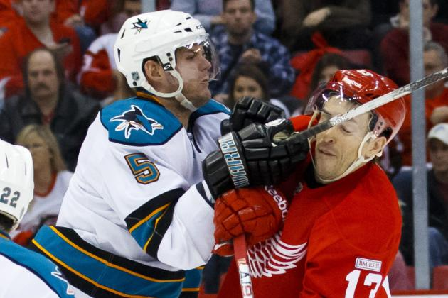 ESPN Gamecast: Sharks vs. Red Wings