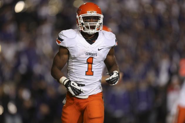 Joseph Randle Scouting Report: NFL Outlook for Oklahoma State RB