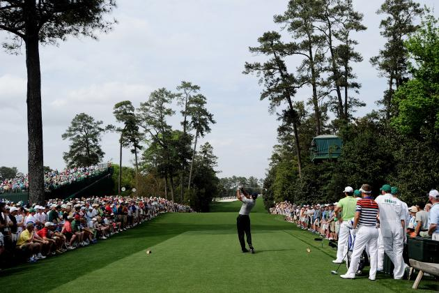 Masters Is Absolutely Not the Time to Test Your Best 'Get in the Hole' Shout