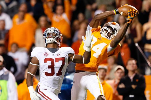 Cordarrelle Patterson Scouting Report: NFL Outlook for Tennessee WR
