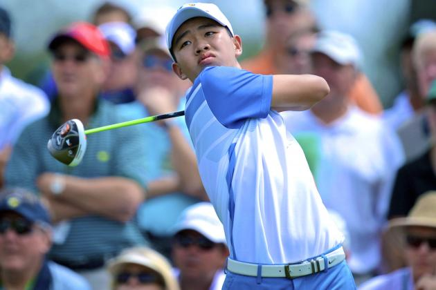 Tianlang Guan: Breaking Down 14-Year-Old Phenom's Opening Round at the Masters