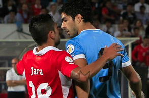 Suarez Under FIFA Microscope for Alleged Punch on Jara During WC Qualifier
