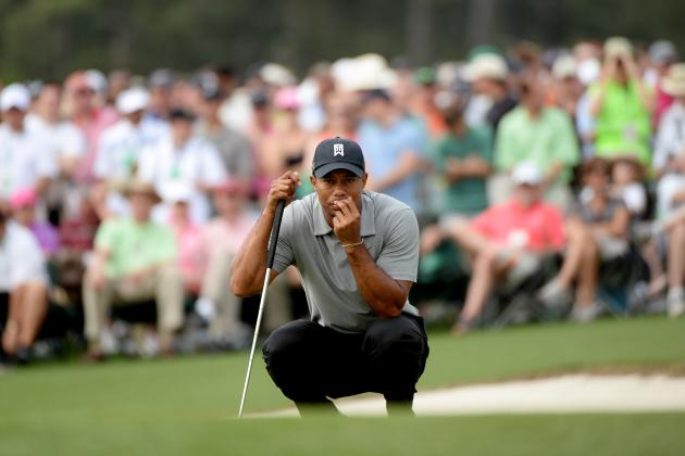 Projecting Tiger Woods' Day 2 Score at 2013 Masters
