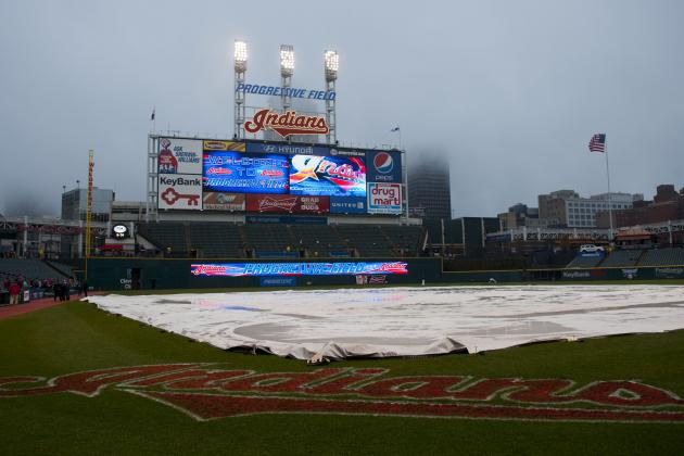 Yankees-Indians Rained out for Second Straight Night at Progressive Field