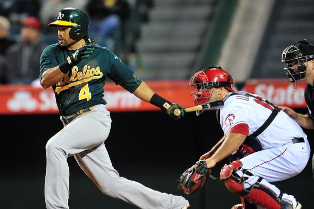 A's Beat Angels 8-1