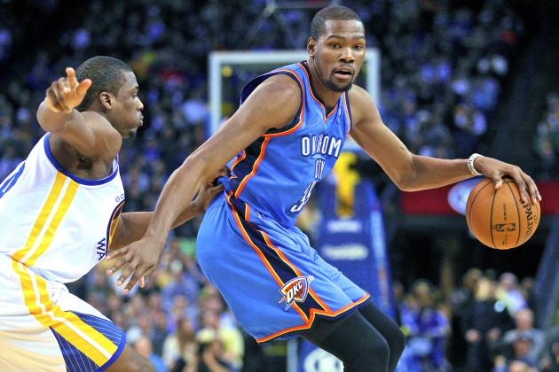 OKC Thunder vs. Golden State Warriors: Live Score, Results and Game Highlights