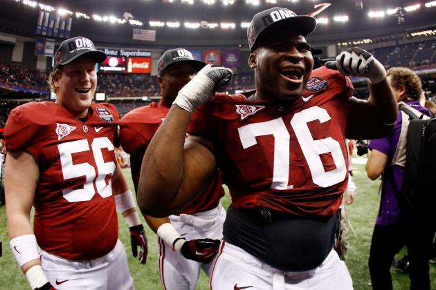 Should the New York Giants Select D.J. Fluker in Round 1 of the NFL Draft?