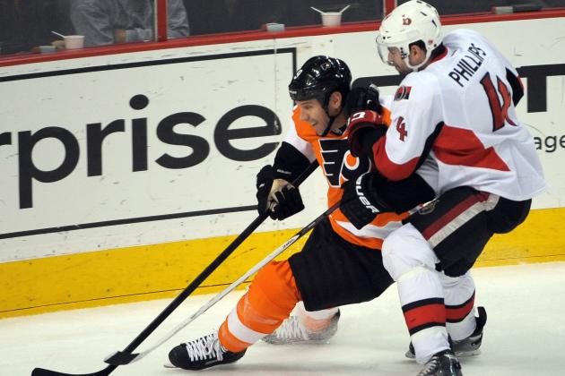 Senators Deal Flyers Their Third Straight Loss