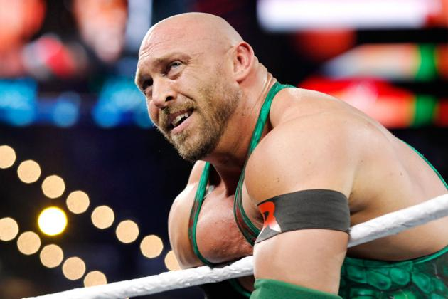 Ryback Is Not a Viable Contender for John Cena's WWE Championship