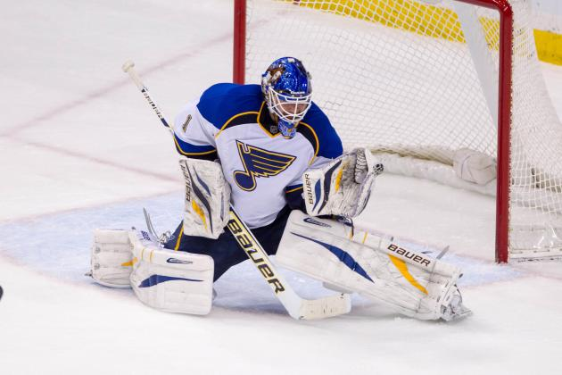 Elliott Posts Third Straight Shutout as Blues Blank Wild
