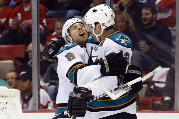 Marleau, Sharks Knock off Red Wings in so