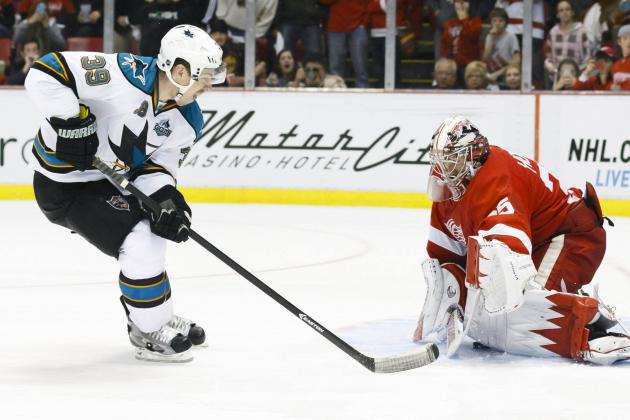 Kurz's Instant Replay: Sharks 3, Red Wings 2 (SO)