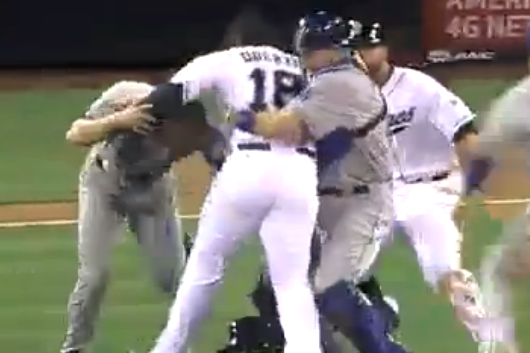 Bench-Clearing Brawl Erupts Between Dodgers and Padres, Then Erupts Again