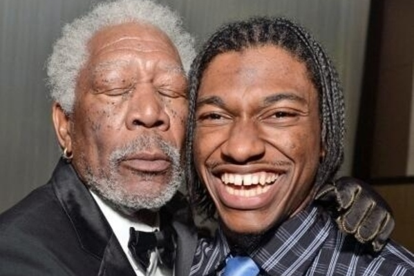 RGIII Meets Morgan Freeman