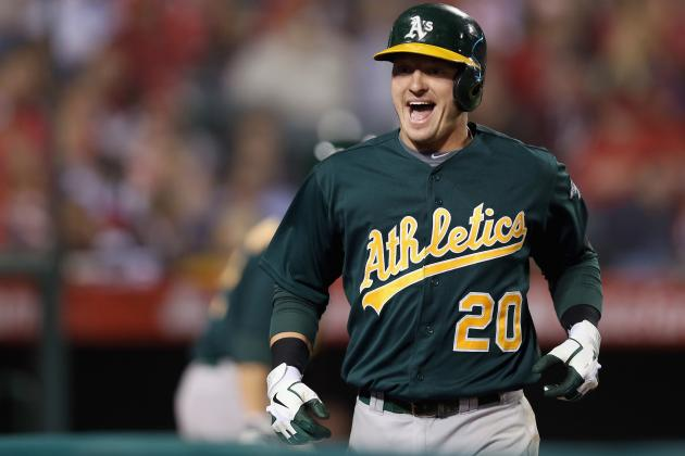 Oakland A's Complete Sweep of Angels to Stretch Win Streak to Eight Games